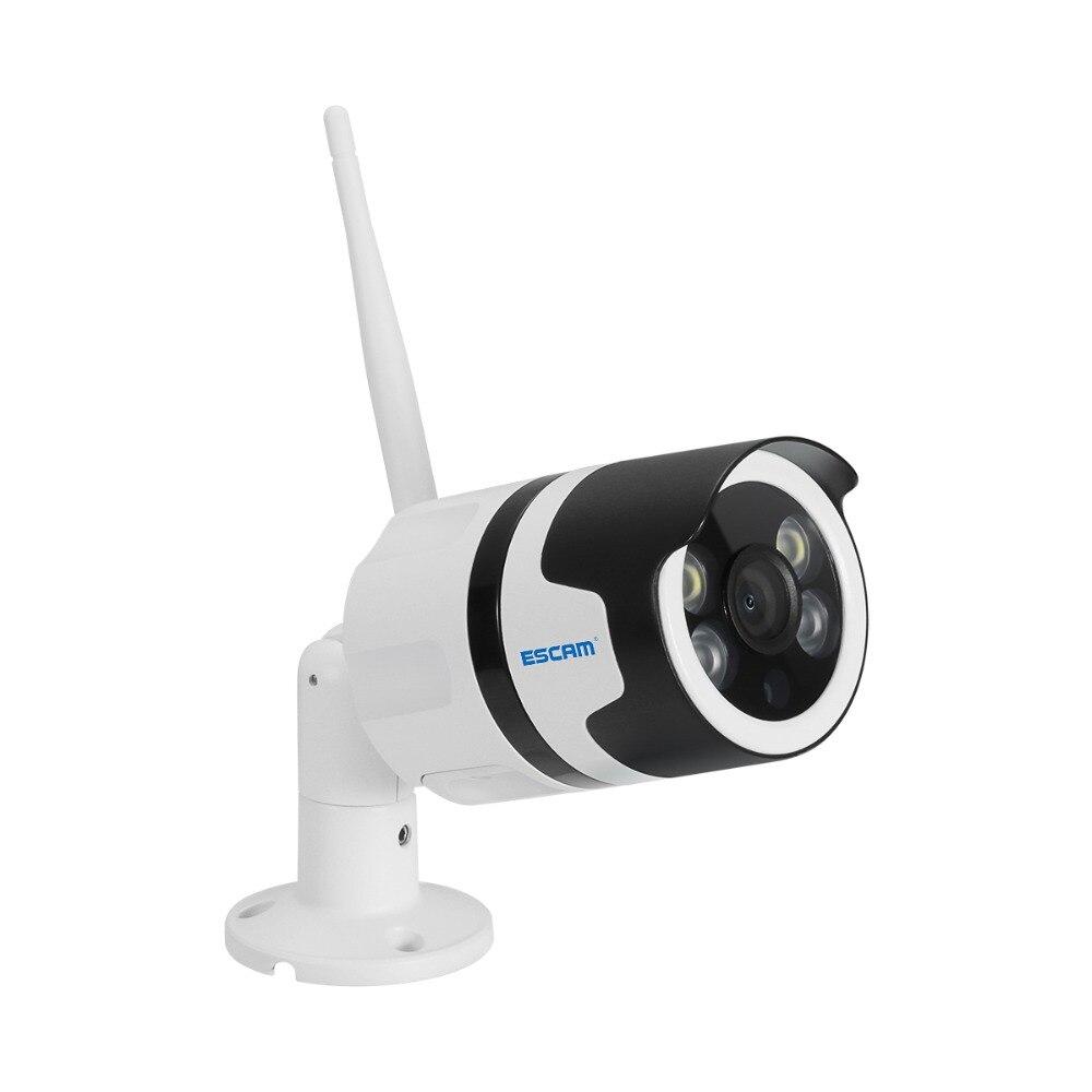 ESCAM QF508 cámara IP HD 1080 P 2MP impermeable al aire libre de color completa de visión nocturna cámara de seguridad de infrarrojos Bulllet Cámara P6SPro - 5
