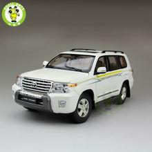 1:18 Масштаб Toyota Land Cruiser LC200 ВНЕДОРОЖНИК Литья Под Давлением Модели Автомобиля Игрушки для подарки сбора хобби Белый
