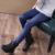 Espesar Invierno muchachas de las polainas de Imitación De Cuero de Imitación de Cuero flaco lápiz pantalones chicas para 3-11Y caramelo colores WCR209