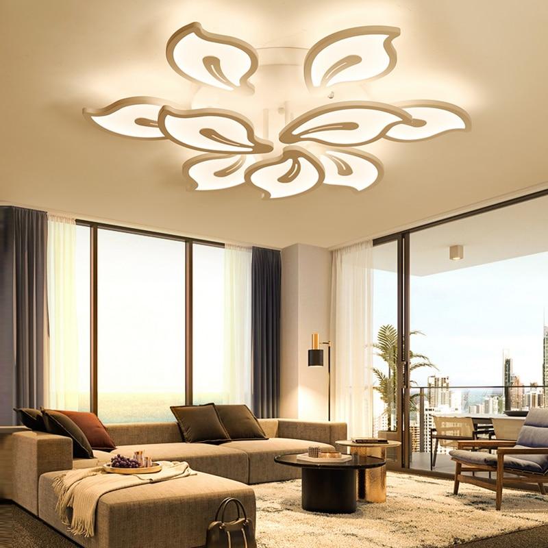 Acrilico di spessore Moderna led lampadario a bracci del soffitto per soggiornoAcrilico di spessore Moderna led lampadario a bracci del soffitto per soggiorno