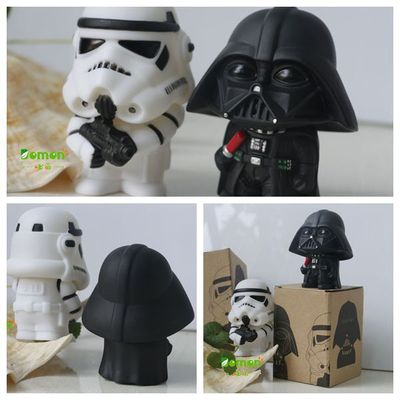 New Star Wars Figures toy Black Knight Darth Vader Stormtrooper PVC Action Figures DIY Educational TOYS