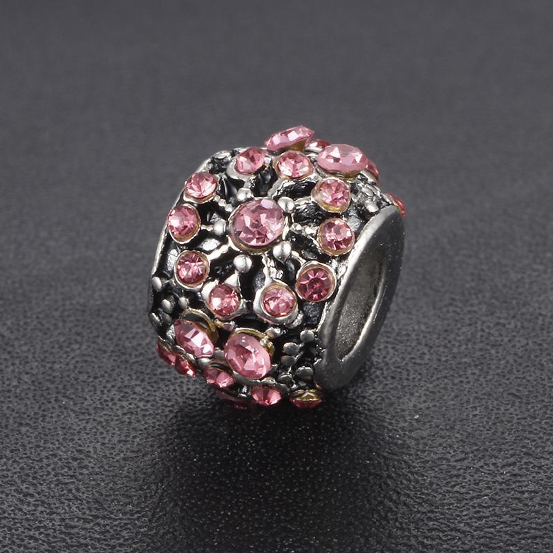 SPINNER 1PCS Crystal Dazzling Daisy Charm Beads Fit Pandora Charm Bracelets for Women Jewelry Accessories Gift