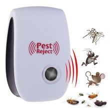 רב תכליתי אלקטרוני קולי יתושים לדחות באג יתושים מקק עכבר פשט לדחות מגנטי רוצח Repeller