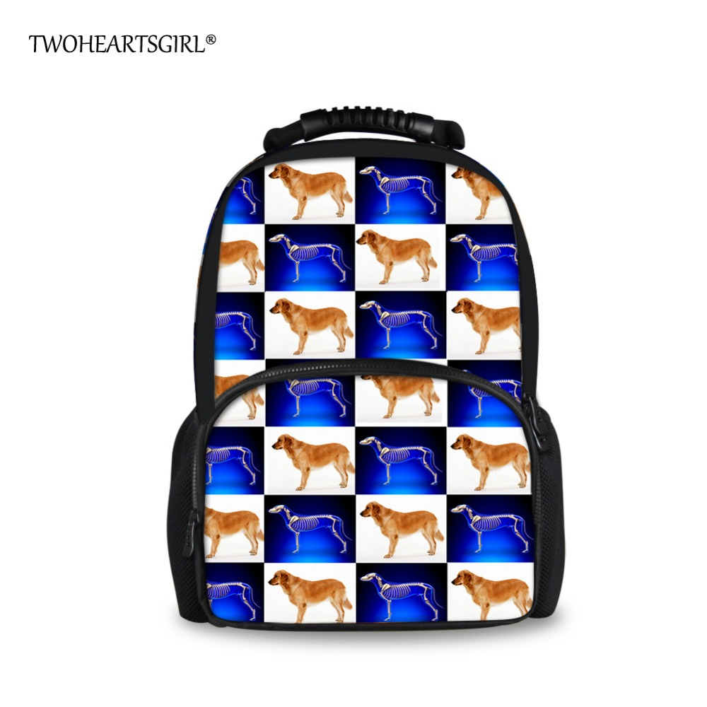 TWOHEARTSGIRL Pretty College Girls Backpack High School Student Laptop Backpack Stylish Children Girls Travel Backbag Harness