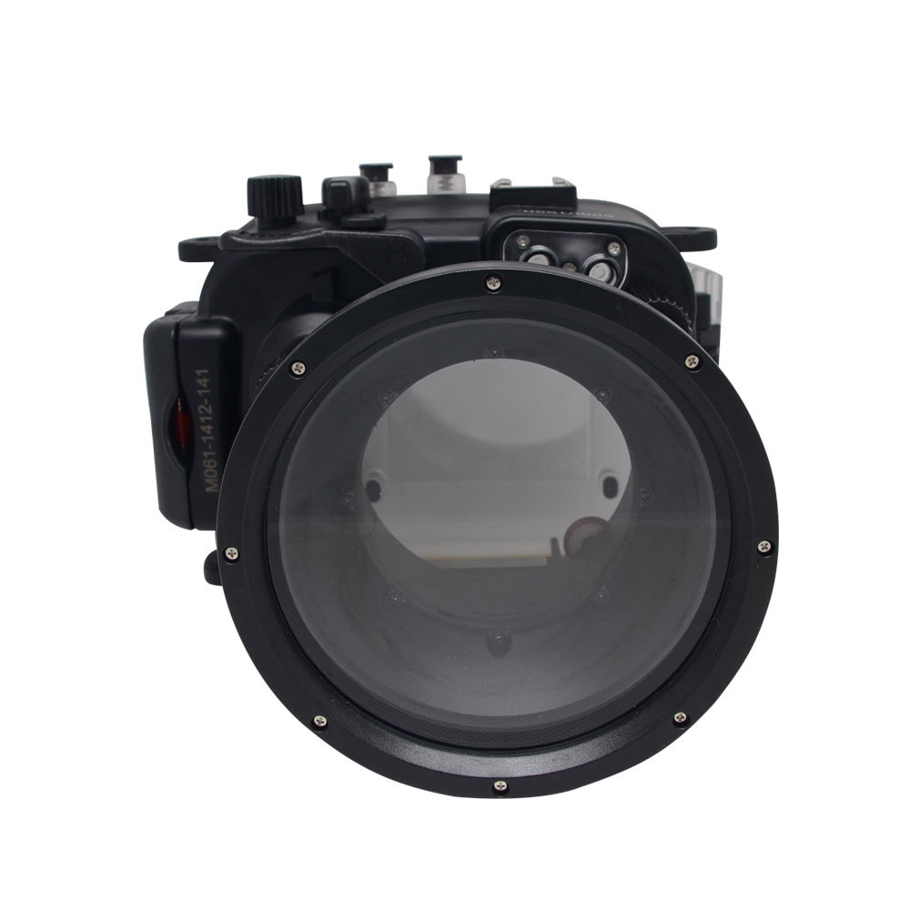 Mcoplus 60m/195ft Underwater Waterproof Camera Housing <font><b>Case</b></font> for <font><b>Canon</b></font> Powershot <font><b>G1X</b></font> Mark II WP-DC53 image