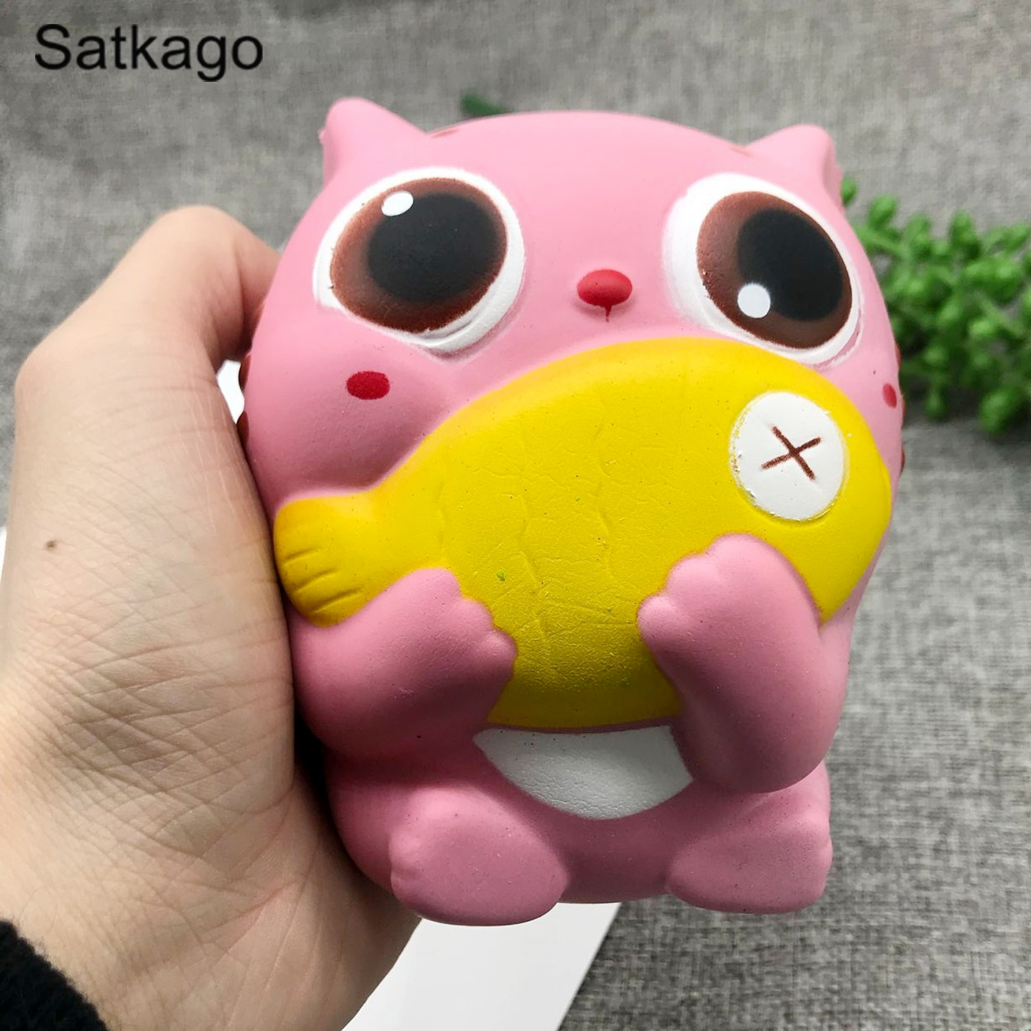 Squishy Cute Kawaii Soft Cotton Candy Toy Slow Rising For Children Ocean Beauty Set Mainan Anak Oct84004ab Multicolor Squishies Cat Kids Adults Relieves Stress Anxiety