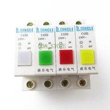 Light DZ47 Breaker C45D Indicator Signal-Lamp Good-Quality White Yellow Green Red