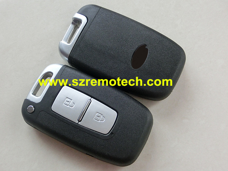 RMLKS Keyless Entry 2 Button Smart Card Remote Key Case Shell key blank Left blade key Fob Fit For Kia K5 k2 Sportage
