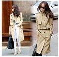 Otoño estilo Coreano mujeres primavera y el abrigo de Ocio Zanja de Tres tipos de desgaste de las mujeres