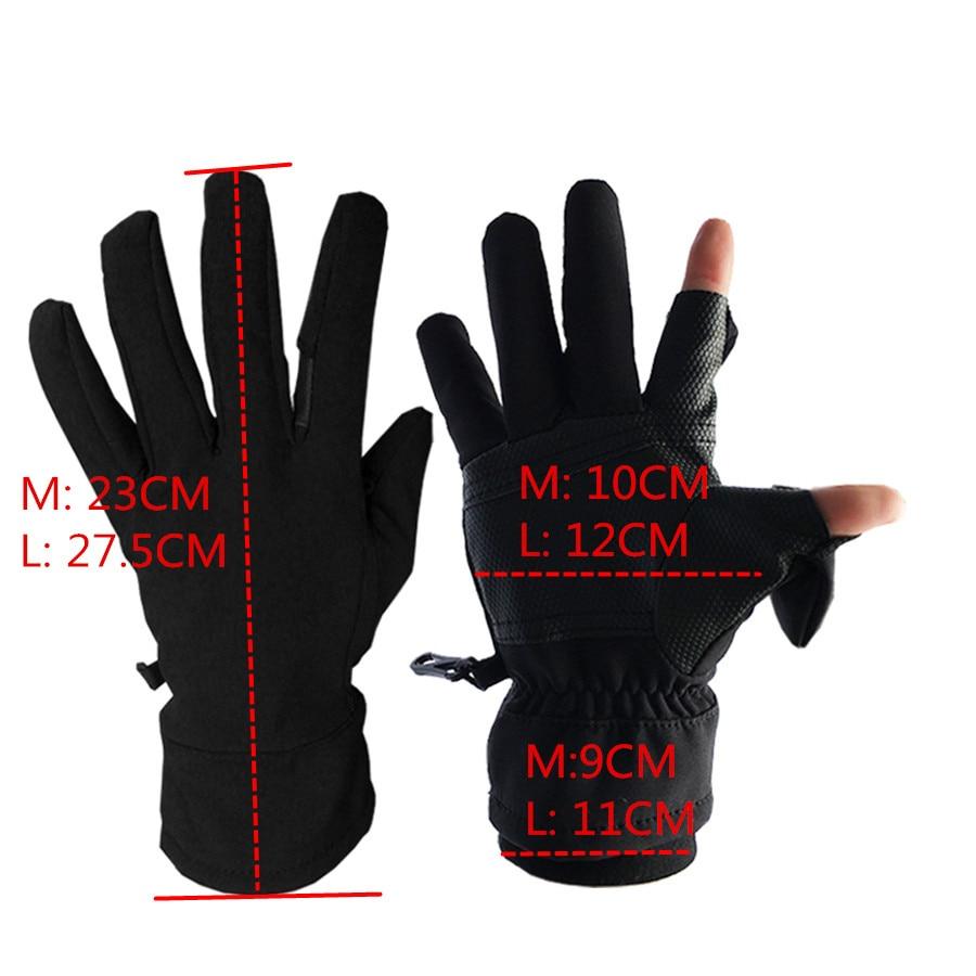 Winter Waterproof Photography Gloves