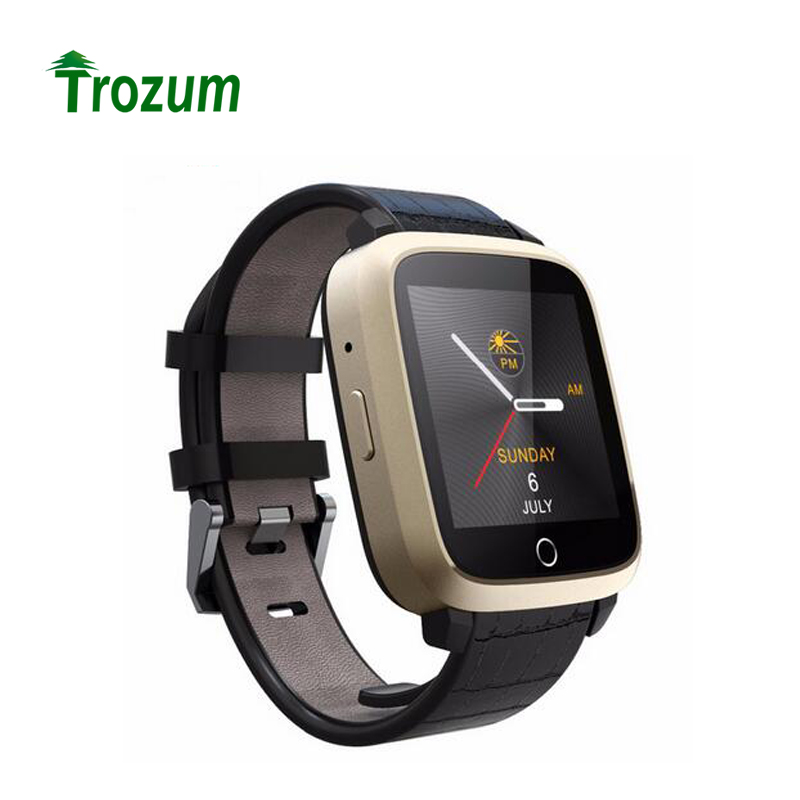 TROZUM Newest U11S Smart Watch MTK6580 Quad Core Android 5.1 Watch Support GPS Wifi Camera Heart Rate Monitor Watches Smartwatch цена и фото