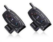 2 шт. BT1000M Мотоциклетный Шлем Bluetooth-гарнитура и Домофон С Встроенный Fm-тюнер
