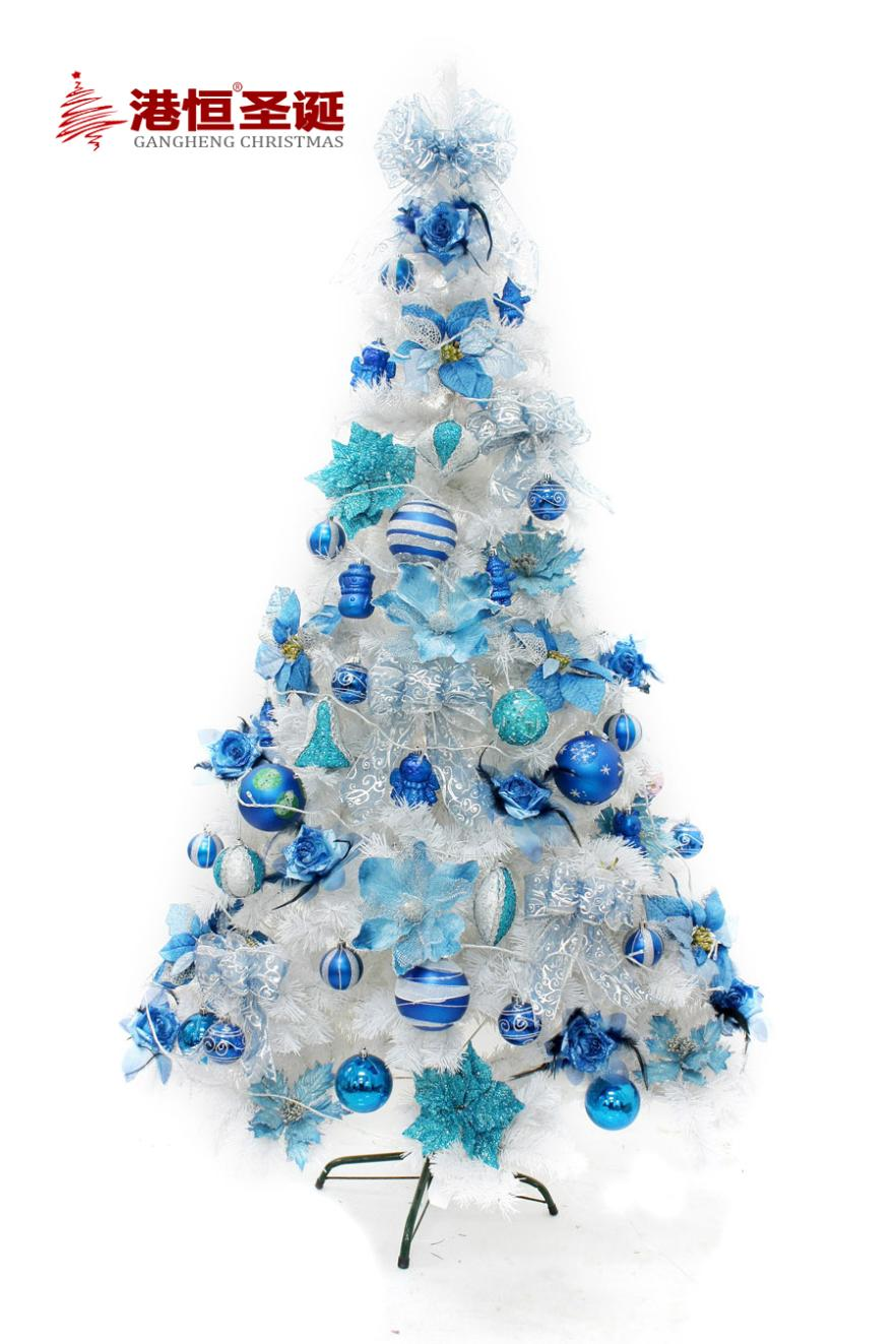 packages decorated christmas tree 12 21 miou style sapphire blue color white tree decorated christmas tree package in christmas from home garden on
