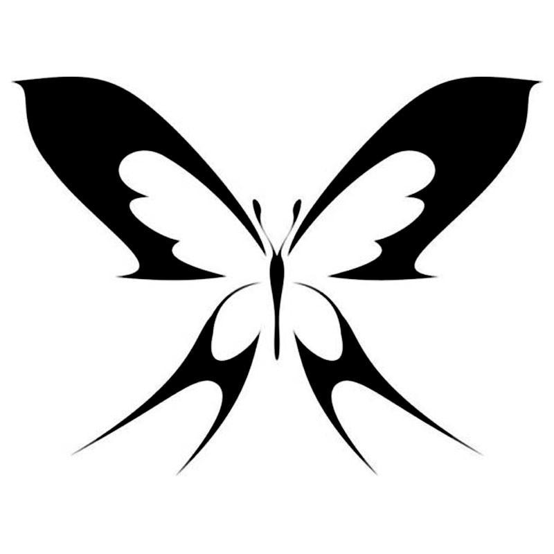 Online Get Cheap Car Butterfly Stickers Aliexpresscom Alibaba - Butterfly vinyl decals