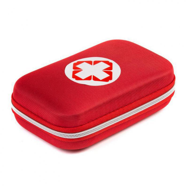 Црвена и црна кутија за прву помоћ - Безбедност и заштита - Фотографија 4