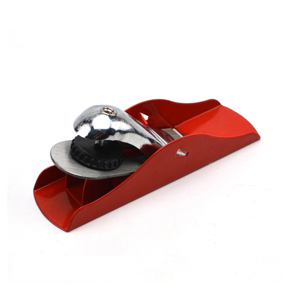 1pc Red Mini Hand Planer Steel DIY Woodworking Tool Bench Plane Cutter For Carpenters Tools