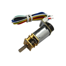 N20 miniature DC geared motor, encoder smart car DC3V6V12V CW/CCW