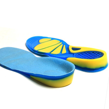 BORDER FOR TRAVELER Silicone Gel Insoles Foot Care for Plantar Fasciitis Heel Spur Sport Shoe Pad Insoles Arch Orthopedic Insole