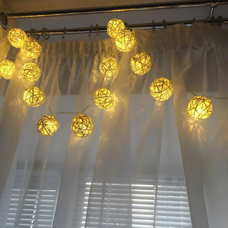 led holiday night light strip string lighting light ball lamp decoration (9)