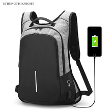 цены Multifunction USB charging Men 15inch Laptop Backpacks For Teenager Fashion Male Mochila Anti thief Travel backpack