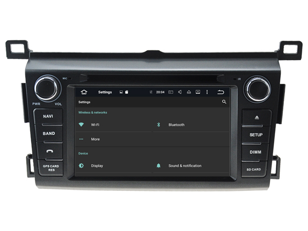 Android 9.1 HU Car Radio For TOYOTA RAV4 2013 2018 GPS car multimedia Player car audio player car music player with canbus