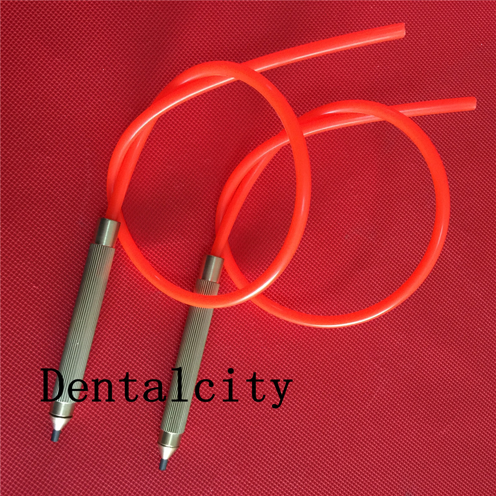 2pcs Dental Lab Sandblasting Machine Tungsten Steel Tip Nozzle Blaster Handle Pen