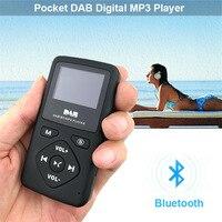 MP3 Pocket DAB Radio Portable Digital Radio With Bluetooth MP3 Player supports FM stereo radio bluetooth player MP3 playing