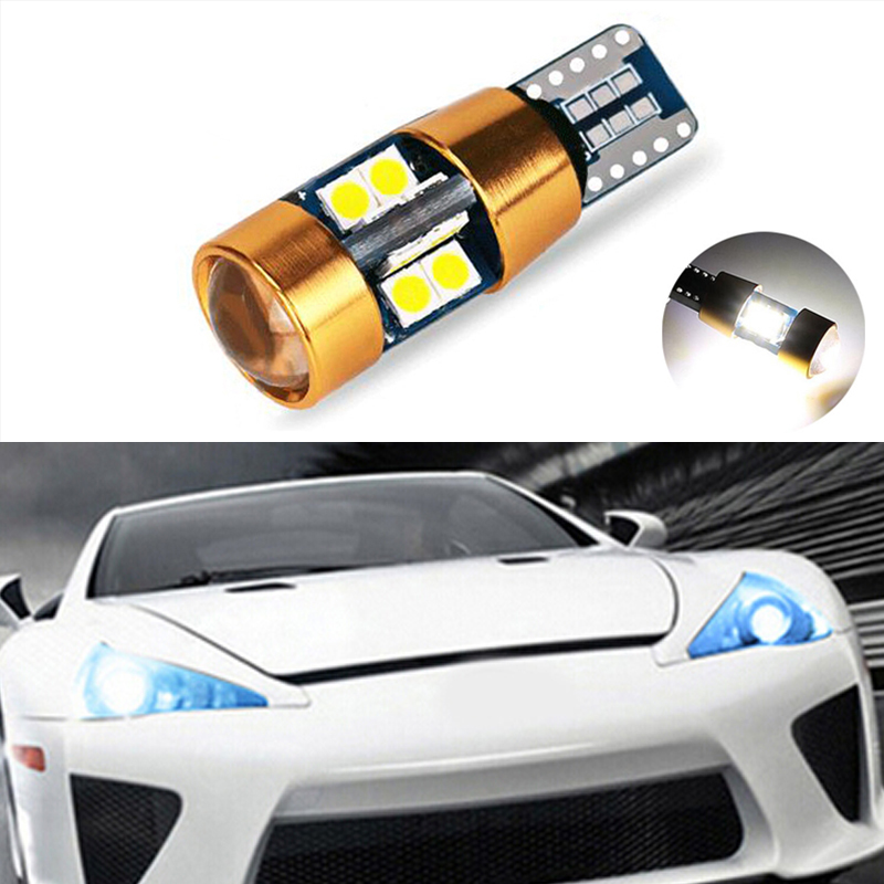 1x T10 W5W LED Wedge <font><b>Light</b></font> Marker Lamps Bulb For <font><b>lexus</b></font> rx300 rx330 rx350 is200 is250 lx570 lx470 <font><b>gs300</b></font> gx47 ES350 image