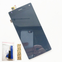 Black For FLY FS452 FS 452 LCD Display Screen Digitizer Complete LCD Screen Assembly Replacement Free