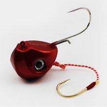 Gabarit leurres 40g 60g 80g 100g tête de plomb gabarits avec crochet unique Pesca accessoires bateau pêche équipement