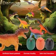 REikirc Färgglada Dinosaur Ägg Kläckning Växande Dinosaur Rolig Utbildning Leksaker Barn Kid Gift Magic Egg