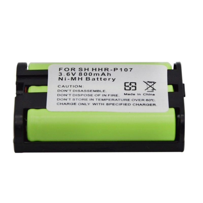 Power Source Nice 800mah Battery Hhr-p107 Hhrp107 Hhrp107a/1b Hhr-p107a/1b For Panasonic Cordless Phone Rechargeable Bateria Pack Replacement A Great Variety Of Goods
