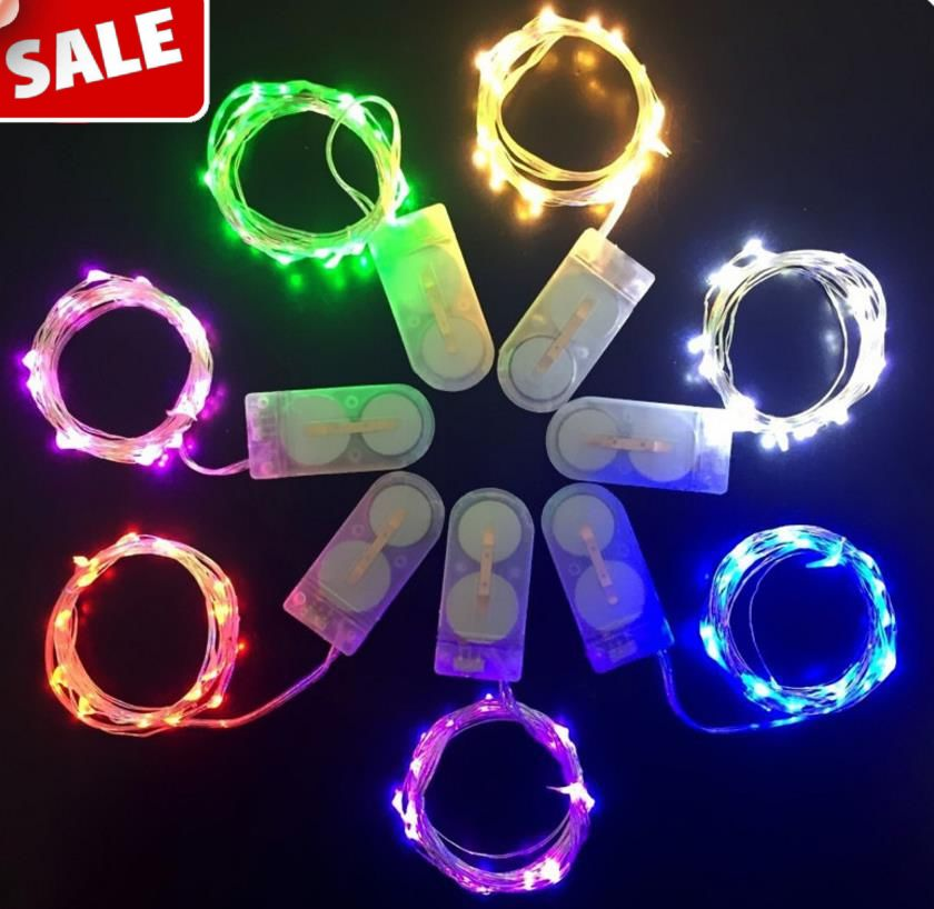 Battery Operated Led String Lights Waterproof
