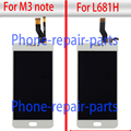 5.5 inch Full LCD Display + Digitizer Touch Screen Glass Assembly Replacement For Meizu M3 Note or L681H Free Shipping