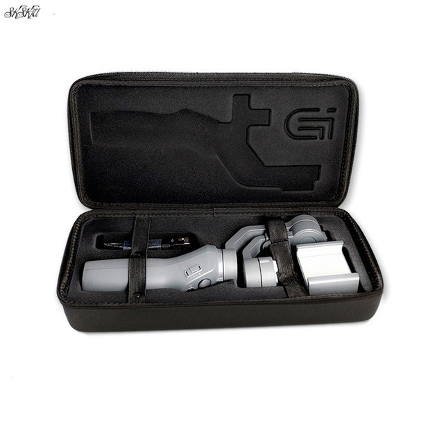 OSMO Mobile Portable Carrying Case Handheld Storage Bag PU Waterproof Shockproof cover  for DJI OSMO 2  Handheld Gimbal 2