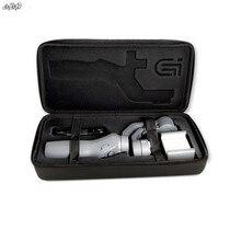 אוסמו נייד נייד תיק נשיאה כף יד אחסון תיק PU עמיד למים עמיד הלם כיסוי עבור DJI אוסמו 2 כף יד Gimbal 2