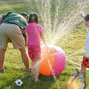 Spray Ball 30in-Diameter Inflatable Sprinkler Water Ball Outdoor Fun Toys high quality holiday party game toys product toys