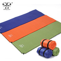 SY New Self Inflating Camping Mattress Inflatable Sleeping Pad Camping Air Mattress With Pillow Portable Folding