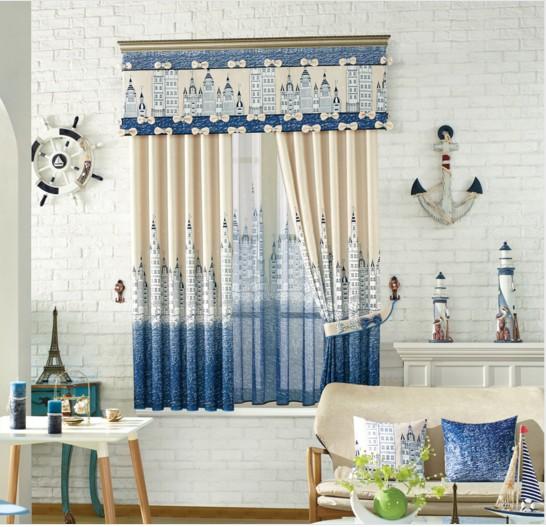 paisaje cortinas para sala de estar dormitorio nios nios habitacin del beb cortina cortinas opacas hook