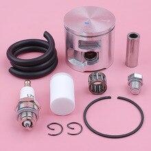 47 мм поршневое кольцо комплект для HUSQVARNA 455 Ранчер 455 топливный фильтр линия декомпрессионный клапан подшипник бензопилы замена инструмента запасные части