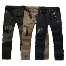 2018 Hiking Pants Outdoor Quick Dry Pants Men Summer Breathable Camping Trousers Removable Shorts Trekking Hunting Fishing Pants