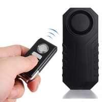 Wireless Bicycle Anti-theft Alarm Lock Vibration Bike Motorcycle E-bike Vibration Alarm Cycling Accessories 113dB