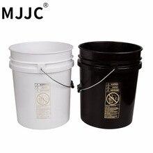MJJC бренд с высококачественным двойным ведром два ведра набор для мойки каждого ведра 5 галлонов(20л) один черный и один белый