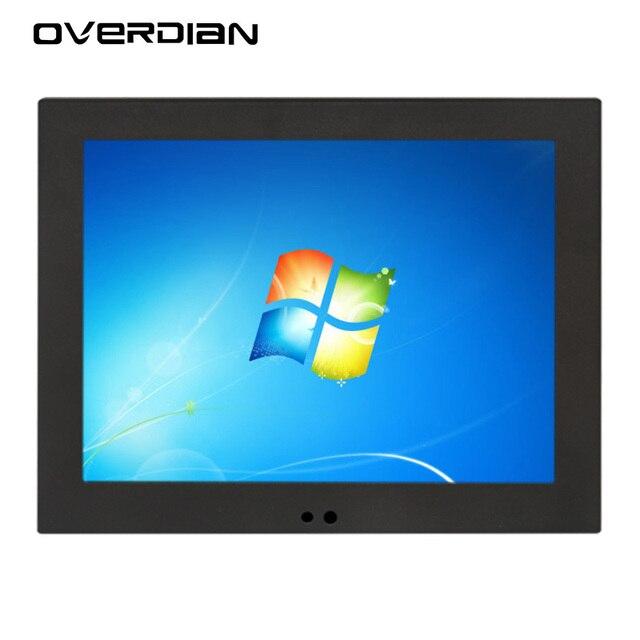 """12 """"ذكي شاشة الكمبيوتر شاشة Win7 شاشة تعمل باللمس واحدة 1024*768 لوحة كمبيوتر الصناعية الكمبيوتر جزءا لا يتجزأ من الكمبيوتر"""