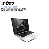 T Bao Tbook R8 Laptop Full HD 15.6 Inch 4GB RAM 64GB Windows 10 English Version Intel Cherry Trail X5 Z8350 Quad Core 1.44GHz