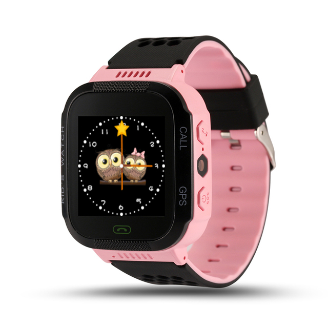 Q528 Smart Kids Watch Touch Screen GPS Position Safety Monitor SOS Call Alarm colck Voice