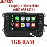 JNDSNY RCD330G CarPlay RCD330 Plus CarPlay Car Radio For VW Tiguan Golf 5 6 Jetta MK5