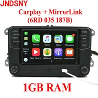 JNDSNY RCD330G CarPlay RCD330 Plus CarPlay Car Radio For VW Tiguan Golf 5 6 Jetta MK5
