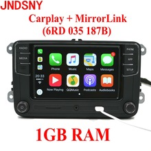 Jndsny rcd330g CarPlay rcd330 плюс CarPlay автомобиля Радио для VW Tiguan Гольф 5 6 Jetta MK5 MK6 Passat Мужские поло Touran 6rd035187b