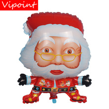 VIPOINT PARTY 59x44cm green blue red Santa Claus foil balloons wedding event christmas halloween festival birthday party HY-303